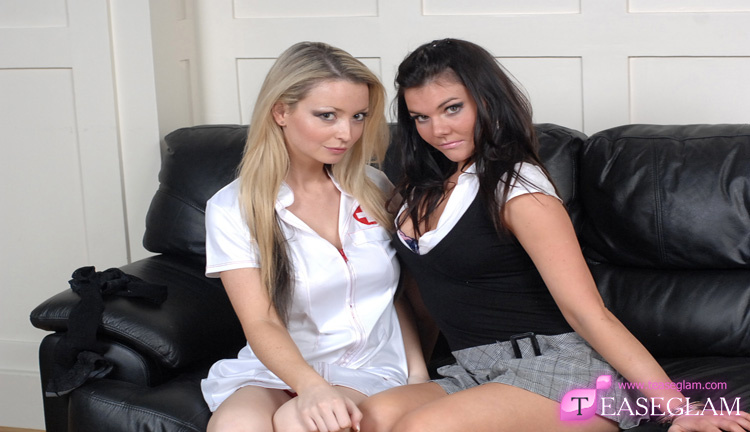 Tor and Adelaide naughty nurse and office rebel